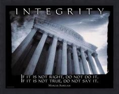 integrity | Living a Life of Integrity | DA Inspires