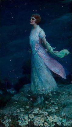 """""""Summer Moonlight,"""" by Harold Brett"""