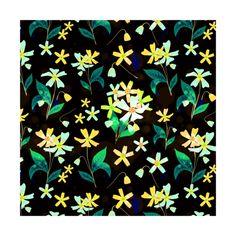 Cherry Blossoms on Black  instagram.com/tseihadesign  #cherryblossom #sakura #flower #floralpattern #surfacedesign #surfacepattern #design #designers #illustration #illustrationart #botanical #botanicalillustration