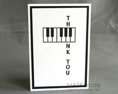 For Piano teacher.  A
