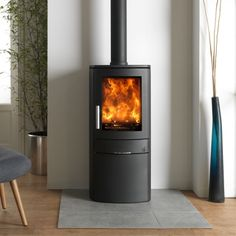 ACR Neo 1C 5kw Defra Approved Multifuel Wood Burning Stove - £1,599.00 : Cast Iron Stove, Uk Homes, Cast Iron Cooking, Paint Finishes, Wood Burning, Modern Design, At Least