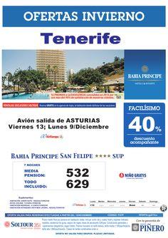 Tenerife, 40% Bahía Príncipe San Felipe, salidas 9 y 13 Diciembre desde Asturias - http://zocotours.com/tenerife-40-bahia-principe-san-felipe-salidas-9-y-13-diciembre-desde-asturias/