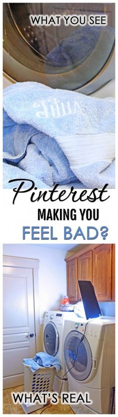 Do you ever browse through Pinterest, looking at all the gorgeous pictures, and come off feeling inadequate and sadder than when you started? Pinterest making you feel bad? Here's the truth! It's not you!!!