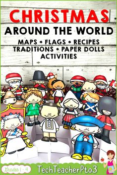 Christmas Around the World Holidays Bundle - Real Time - Diet, Exercise, Fitness, Finance You for Healthy articles ideas 5th Grade Social Studies, Social Studies Activities, Teaching Resources, Primary School Curriculum, Preschool Curriculum, Homeschooling, Holidays Around The World, Around The Worlds, Teaching Geography