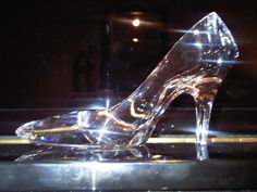 All the brides maids try on the glass slipper then last but not least the bride does and it fits only her foot! #fairtellwedding