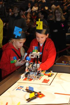Students can be aged 9-16 years to take part in FLL http://firstlegoleague.theiet.org/