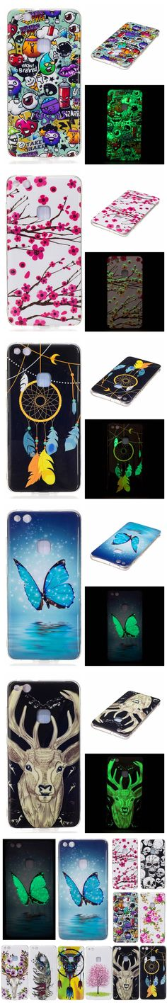 """Huawei P 10 Lite 2017 5.2"""" Silicon Case Luminous Animal Anime TPU Gel Back Cover Phone Case for Huawei Ascend P10 Lite 2017 5.2"""""""