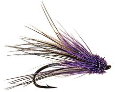 Berrys Euphoric Muddler - Purple - Low and clear water