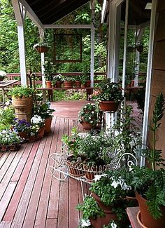 Rebeccas back deck in Oregon | Flickr - Photo Sharing!