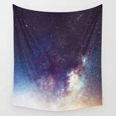 Stars Space Milky Way Galaxy Night Sky Wall Tapestry