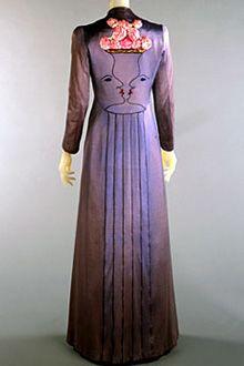 ELSA SCHIPARELLI | Evening coat, designed in collaboration with Jean Cocteau  1937
