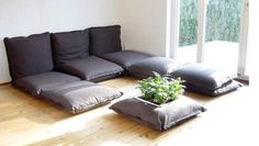 Make Your Own Giant Floor Pillows Build Your Own Moroccan Sofa Indian Floor Seating Furniture Cushion with regard to ucwords] Floor Couch, Sofa Couch, Couch Pillows, Floor Pillows, Large Floor Cushions, Big Cushions, Large Pillows, Sofa Layout, Sofa Design