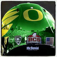 BEST LOOKING Oregon Football helmet so far !!!