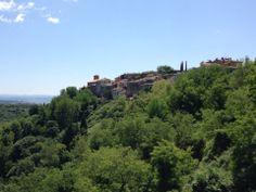Scansano nel Toscana