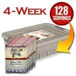 Patriot Pantry Four Week Emergency Food Supply