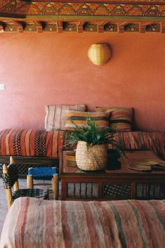 Holiday home of the week: a hidden riad in Marrakech Moroccan Room, Moroccan Theme, Moroccan Interiors, Moroccan Design, Moroccan Style, Moroccan Bedroom Decor, Moroccan Inspired Bedroom, Modern Moroccan, Marocco Interior