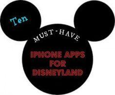 Ten iPhone Apps For Disneyland #iPhoneXorTen