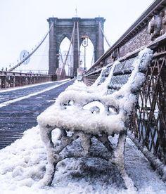 A frozen New York