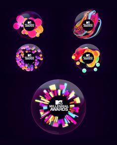 MTV MILLENNIAL AWARDS on Behance