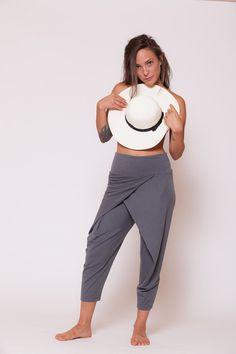Pantalones de yoga estiramiento pantalones por AlexWomenCreations