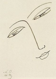 Matisse FACE OF A WOMAN Hermitage, Saint Petersburg 1935
