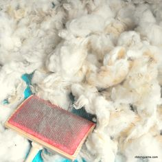 How To: Process Raw Fleece for Spinning (Part 1) ||| Ribbing Yarns