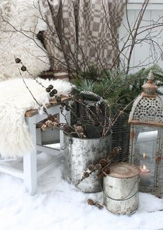 VIBEKE DESIGN: Winter out ... (slightly) our ever .....