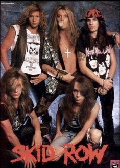 Big Hair Bands, Hair Metal Bands, 80s Metal Bands, 80s Rock Bands, Rock And Roll Bands, Glam Metal, Rachel Bolan, Pop Internacional, Sebastian Bach