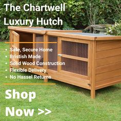 Guinea Pig Hutch, Guinea Pigs, Web Design London, Rising Damp, Tongue And Groove Panelling, Rabbit Hutches, Wood Construction, Pretty Cool