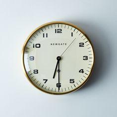 Chrysler Brass Wall Clock by Food52 - Dwell