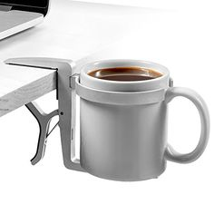 Vector Cup Holder / Vector Drink Holder - Clip-on, Clamp-on, Foldable, Portable