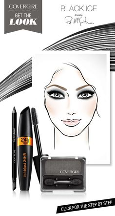 Complement every holiday ensemble with a smoldering eye. Click to get the look.