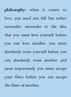 Surrender....