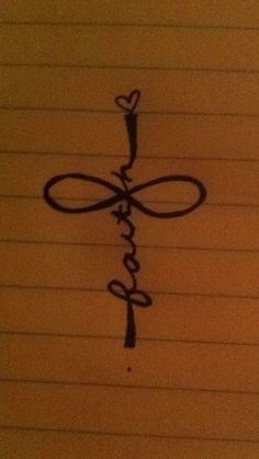 faith and cross tattoo | tatssss | Pinterest