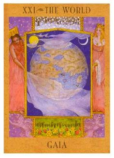 August 28 Tarot Card: The World (Goddess deck) The universe is flowing in your favor now, pick up your feet and let the winds of destiny carry you