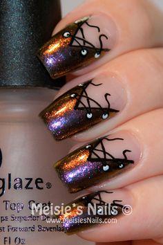 Meisies Nails: A Years Challenge - Week 8: Corset mani