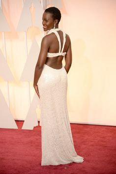 Rejoice: Lupita Nyong'o's Calvin Klein Oscars dress may have been found! Let's relive her magical night, shall we?