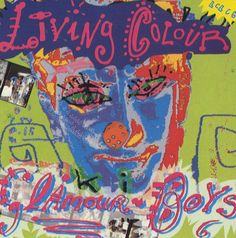"""For Sale - Living Colour Glamour Boys UK  CD single (CD5 / 5"""") - See this and 250,000 other rare & vintage vinyl records, singles, LPs & CDs at http://eil.com"""