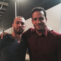 Jake McLaughlin and Josh Hopkins. Ryan and Liam. Quantico.