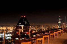 Sushi Samba - Heron Tower London Great drinks and awesome sushi! London Rooftop Bar, Best Rooftop Bars, Rooftop Terrace, Rooftop Gardens, Samba, Trafalgar Square, London Eye, Covent Garden, Heron Tower London