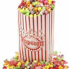 Palomitas dulces de colores para niños, MUY FACILES, NO SE HORNEAN