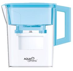 Blue 2.1 Litre Compact Jug  http://www.aqua-optima.co.za/products/blue-21l-compact-jug-amf002b