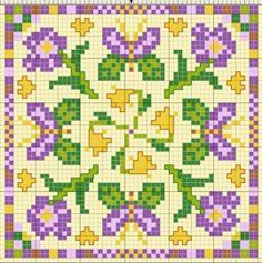 Biscornu pattern