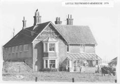 Little Testwood Farmhouse, Totton Southampton England, Old Photos, Farmhouse, Cabin, House Styles, Home Decor, Old Pictures, Decoration Home, Room Decor