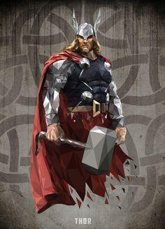avengers polygon - Google 검색