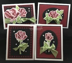 Wednesday, July 26, 2017 This is the FREE Love Letter Embossing Folder $100 level Bloom Benefit. Here is the chart for the different tiers of Bloom Benefits: On today's card I opened the Embossing Folder up and applied the Sweet Berry ink pad directly to the embossing folder on the Raised Side. I then inserted Read More