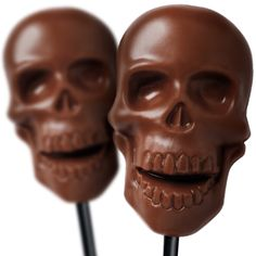 Milk Chocolate Skulls #hotelchocolat #chocolate #halloween #skull