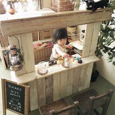子供部屋のままごとカウンターキッチンをDIY|LIMIA (リミア)