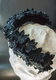 Pretty Alice band for a gothic wedding <3, made by #Faunauge