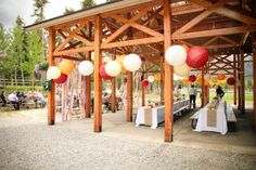 Consider a public, state, or national park for your wedding and reception.
